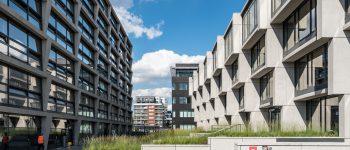 Klinika betonu elewacje biurowiec postepu 4 warszawa