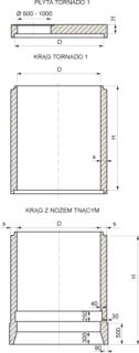 STUDNIA STARTOWA Z NOZEM TNACYM tech 679x9000fit