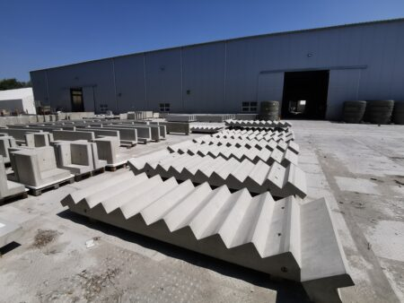 Schody klinika betonu