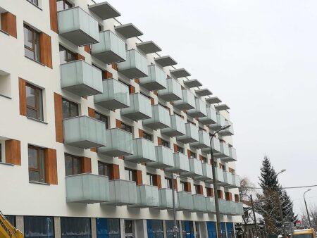 Balkony, ul. Lanciego