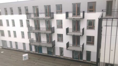 Balkony ul. Poloneza Warszawa