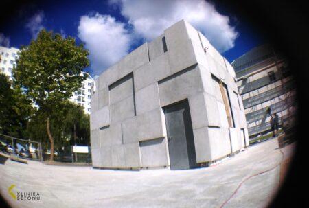 Płyty elewacyjne klinika betonu