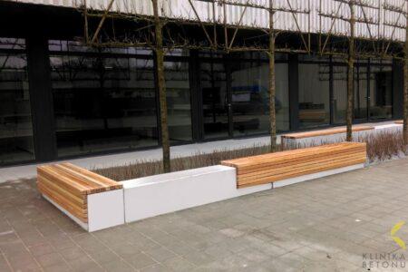Klinika betonu mala architektura donice i lawki betonowe hala banacha realizacja 1