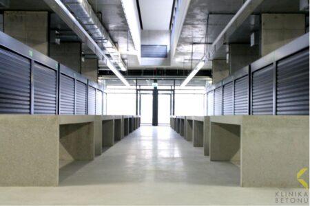Klinika betonu mala architektura donice i lawki betonowe hala banacha realizacja 6