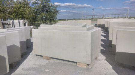 Klinika betonu ogrodzenie betonowe