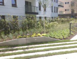 Murki oporowe osiedle kierbedzia warszawa realizacja klinika betonu 3