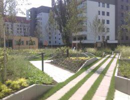 Murki oporowe osiedle kierbedzia warszawa realizacja klinika betonu 5