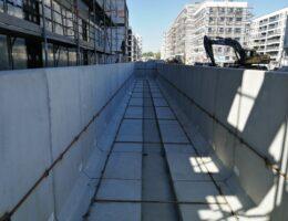 Murki oporowe osiedle stacja kazimierz warszawa realizacja klinika betonu 7