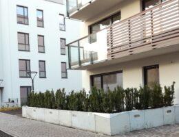 Murki oporowe osiedle wlodarzewska 65 warszawa realizacja klinika betonu