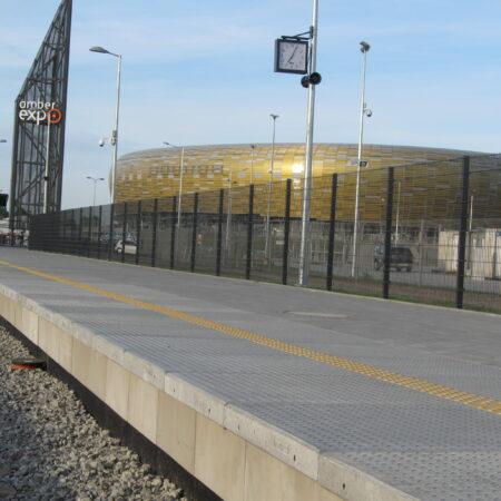 Peron gdansk pge arena