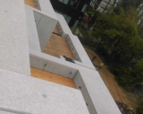 Biurowiec p4 warszawa elewacja betonowa klinika betonu 12 compressed