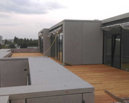 Biurowiec p4 warszawa elewacja betonowa klinika betonu 13 compressed