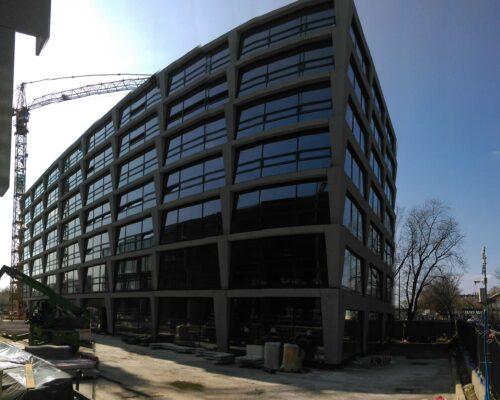 Biurowiec p4 warszawa elewacja betonowa klinika betonu 5 compressed