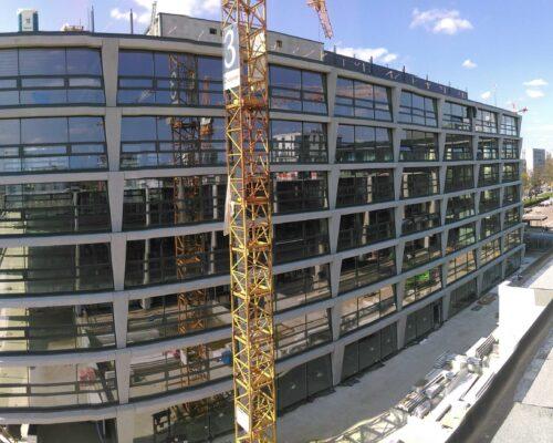 Biurowiec p4 warszawa elewacja betonowa klinika betonu 6 compressed