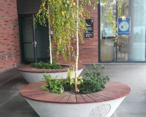Donice biurowiec alchemia gdanska realizacja klinika betonu