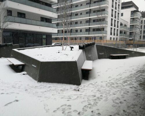 Klinika betonu murki oporowe osiedle miasto wola warszawa 5