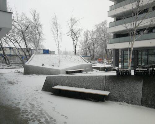 Klinika betonu murki oporowe osiedle miasto wola warszawa