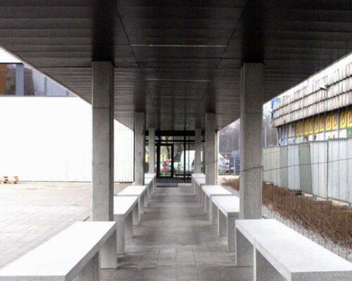 Klinika betonu mala architektura donice i lawki betonowe hala banacha realizacja 9 compressed