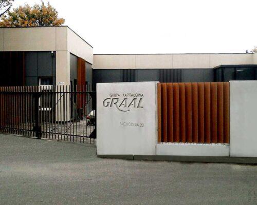 Klinika betonu ogrodzenie realizacja graal 1 compressed