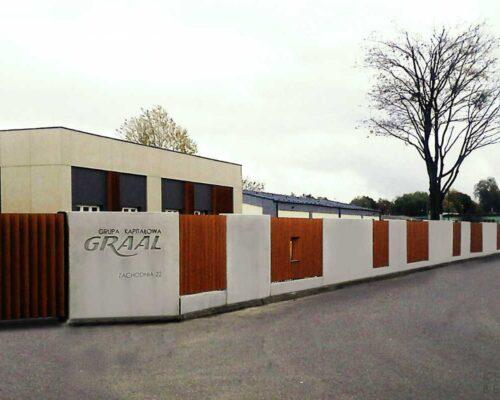 Klinika betonu ogrodzenie realizacja graal 2 compressed