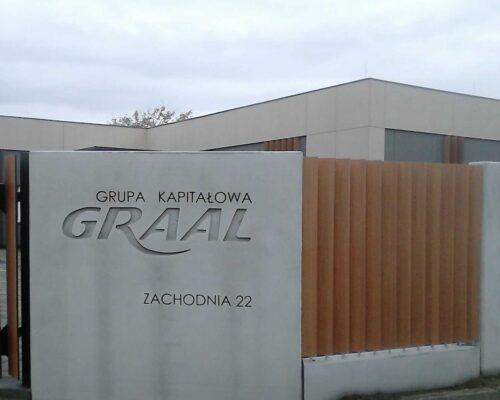 Klinika betonu ogrodzenie realizacja graal 4 compressed