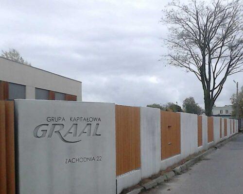Klinika betonu ogrodzenie realizacja graal 5 compressed