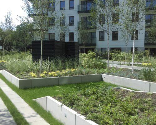 Murki oporowe osiedle kierbedzia warszawa realizacja klinika betonu 6