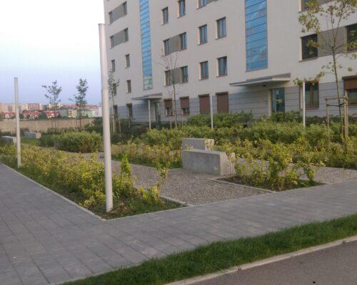 Murki oporowe osiedle kierbedzia warszawa realizacja klinika betonu 7