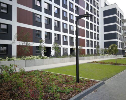 Murki oporowe osiedle stacja kazimierz warszawa realizacja klinika betonu 3