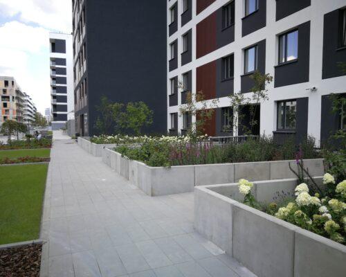 Murki oporowe osiedle stacja kazimierz warszawa realizacja klinika betonu 4