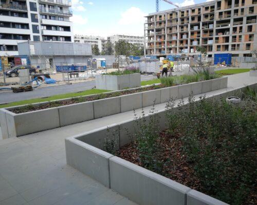 Murki oporowe osiedle stacja kazimierz warszawa realizacja klinika betonu 5