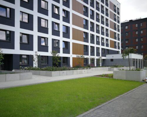 Murki oporowe osiedle stacja kazimierz warszawa realizacja klinika betonu