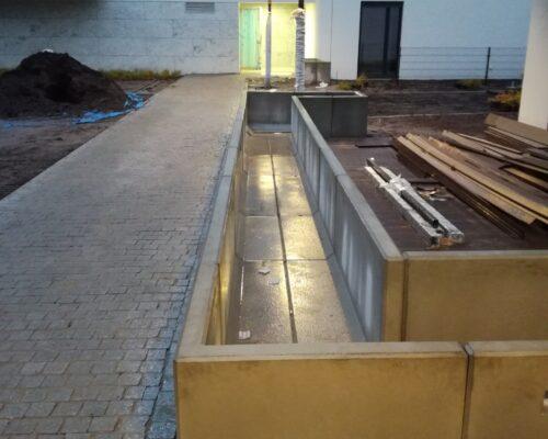 Murki oporowe osiedle wlodarzewska 65 warszawa realizacja klinika betonu 2
