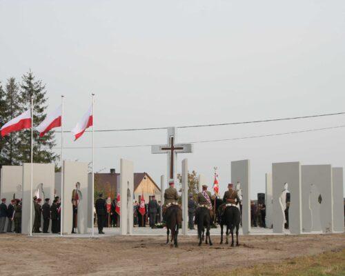 Szaniawy pomnik realizacja klinika betonu compressed