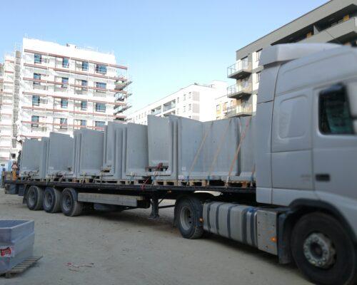Transport murki oporowe osiedle stacja kazimierz warszawa klinika betonu