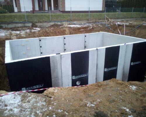 Zbiornik retencyjny grodzisk mazowieckiw realizacja sienkiewicz